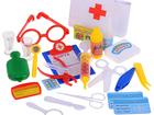 Изображение в Для детей Детские игрушки Набор доктора в чемодане 24 аксессуара PlaySmart в Москве 350