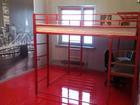 Уникальное foto  Кровать-чердак с рабочей зоной, металлическая 38701922 в Москве
