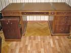 Новое изображение Офисная мебель Письменный стол Genoveva Испания модель MA42/506 с кожей Dakota 38729436 в Москве