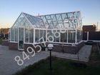 Уникальное фотографию  Теплицы Люкс из стекла от производителя 39111621 в Москве