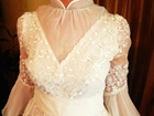 Уникальное фото Свадебные платья Свадебное платье из Японии (натуральный шелк) 39235754 в Москве