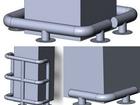 Просмотреть фотографию Строительные материалы Металлические колесоотбойники для колонн 39580426 в Воронеже