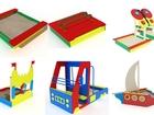 Свежее фото Детская мебель Песочницы для дачи деревянные 39580481 в Тамбове