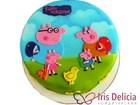 Смотреть foto Торты Детские торты - С днем рождения Пеппа № w068 40127242 в Москве