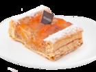 Скачать фото Пирожные Пирожное «Мельфой абрикосовый» с доставкой по Москве 40303134 в Москве