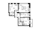 Продается 4-ком апартамент площадью 125.2 кв.м на 7 этаже 23