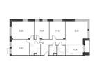 Продается 5-ком ква-ра площадью 151.62 кв.м на 4 этаже 12 эт