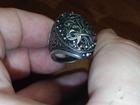 Увидеть фото  Старинный серебряный перстень с вензелями 44158827 в Москве