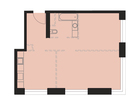 Продается 2-ком ква-ра площадью 59.8 кв.м на 6 этаже 37 этаж