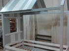 Свежее фото Мебель для детей Кровать-домик из натурального дерева 54020365 в Москве