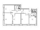 Продается 4-комн. кв-ра площадью 92,9 кв.м на 15 этаже 20 эт
