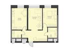 Продаются апартаменты площадью 67,1 кв.м на 2 этаже 18 этажн