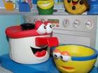 Новое foto Детские игрушки Кухня 7 предметов мягких с глазками 67988429 в Москве