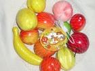 Скачать бесплатно изображение Детские игрушки Набор фруктов 12 штук от 5-17см 67988720 в Москве