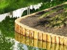 Просмотреть фотографию Строительные материалы Берегоукрепление бревнами лиственницы 68392595 в Москве