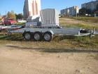 Увидеть фото Прицепы для легковых авто Прицеп автовз для перевозки спец, техники до 3,5т 70343666 в Москве