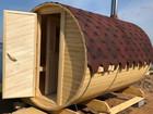 Уникальное foto  Бочка баня для дачи и квадробочка от 2 до 6 м Под Ключ 74727815 в Вологде