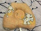 Анатомическая подушка для новорождённых