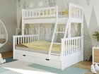 Уникальное изображение Мебель для спальни Двухъярусная детская кровать «Барселона» 80840839 в Москве