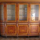 Книжный шкаф инкрустация перламутром и бронзой, фабрика СP, Италия