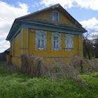 Бревенчатый дом с баней в жилой деревне, 270 км от МКАД
