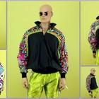 Анорак 90х Hotdogger, Rave Collection/Black/Multicolor