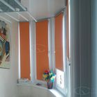 Рулонные шторы для окон различного вида в ассортименте