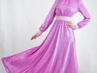 Мусульманское, вечернее платье для никаха Платье «Магнолия» Цена 4900руб.   Вече