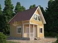 Построим дом из бруса в пределах Москвы и Московской области СК «ПланетСтрой» по