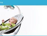 товары для мам и малышей Уникальное кресло-качалка MamaRoo с продуманной и надеж