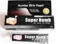 Анестезия, обезболивающий крем Super Numb Супер Намб 30гр Анестезия, обезболиваю