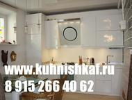 Кухни на заказ Москва шкаф купе Практичные, Недорогие кухни по Вашим размерам, в