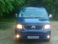Продам авто микроавтобус Продам т-5 транспортер 2006г 650000р 2. 5 тди 131л. с 8