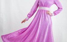 Мусульманское, вечернее платье для никаха