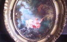 Картина в овальной раме, Италия