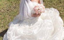 Супер свадебное платье в отл, состоянии