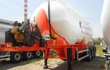 Цементовоз 36м3, алюминиевый