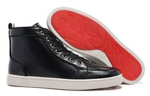 Кеды Christian Louboutin Leather High-Tops