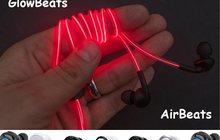 Беспроводные и светящиеся наушники AirBeats-Glow