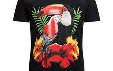 Футболка Philipp Plein Macaw Parrot