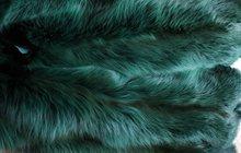 Шкурки цветной лисы