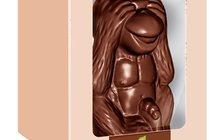 Обезьяна из шоколада - подарок на Новый год 2016
