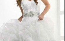 Шикарное новое свадебное платье
