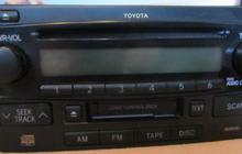 Магнитола родная для Toyota Highlander