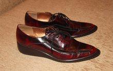 Ботинки - лакированная кожа, 39-39, 5 размер