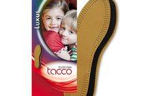 Tacco Luxus Kids Aрт, 613 - детская стелька двухслойная кожаная