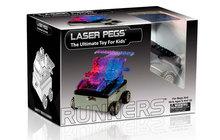 Laser Pegs Военная машина - Светящийся конструктор для мальчиков, Набор 6 в 1