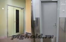 Алюминиевые входные двери, со стеклом