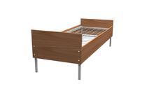 Кровати металлические одноярусные, Кровати для студенческих общежитий