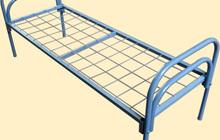 Кровати металлические для обстановки небольших помещений, вагончиков рабочих